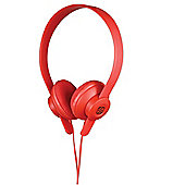 Scosche lobeDOPE On Ear Headphones (Red)