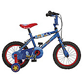 "Silverfox Sonic the Hedgehog 14"" Kids' Bike with Stabilisers"