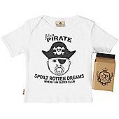 SR Dreams - Future Pirate Baby & Toddler T-Shirt in Milk Carton