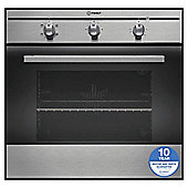 Single Electric Oven with Grill & Easy Clean Enamel in Stainless Steel