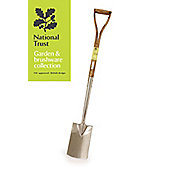 National Trust Stainless Steel Border Spade