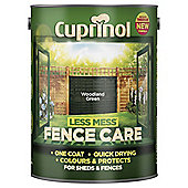 Cuprinol Less Mess Shed & Fence Care, Woodland Green, 5L