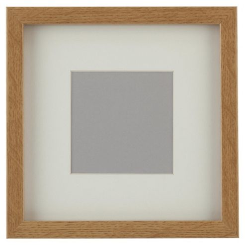 Tesco Basic Photo Frame Oak Effect 7 x 7