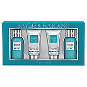 Baylis & Harding Men's Citrus Lime & Mint 4 Piece Gift Set