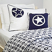Navy Stars Children's Duvet Set