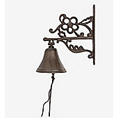 Traditional Cast Iron All-Weather Outdoor Garden Bell