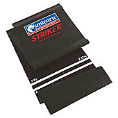 Unicorn Striker Darts Mat Black