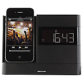 Kitsound X-Dock with FM Radio for iPhone 4/4s, Black