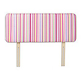 Just 4 Kidz Kids 98cm Funky Headboard - Sky Stripe