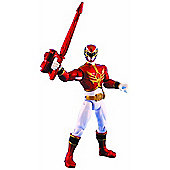 Power Rangers Megaforce 10cm Metallic Force Figure - Red Ranger