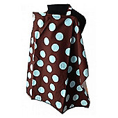 Palm & Pond Baby Blue Polka Dot Breastfeeding Cover