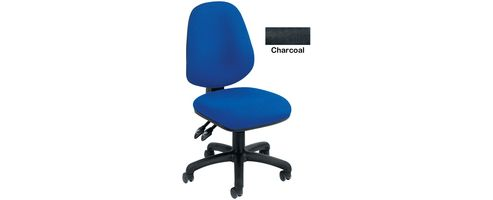 Arista Concept High Back Permanent Contact Operators Chair Charcoal KF03457