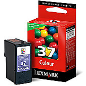 Lexmark Colour No 37 Colour Return Program Print Cartridge
