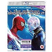 The Amazing Spider-Man 2 - 3D Bluray - Pre order and receive a free wrist watch