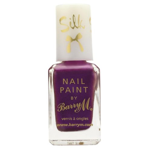 Barry M Silk Nail Paint 7 Orchid 10ml