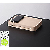 Qualy Pana Tank Maple Wood Charger Docking Station QLPN10036