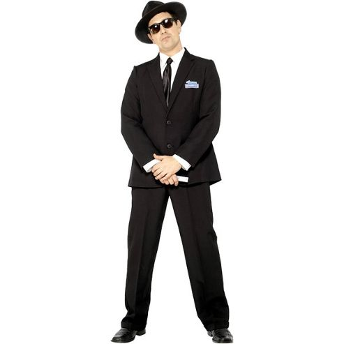 Blues Brother - Adult Costume Size: 42-44
