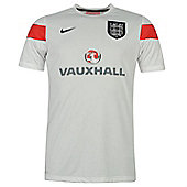 2014-15 England Nike Pre-Match Training Shirt (White) - Kids - White