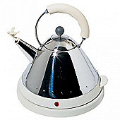 Alessi 'Bird' Kettle in Ivory White MG32W/UK