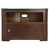 AVF Affinity 37 TV Stand with Cabinet - Walnut