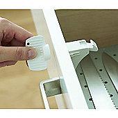 BabyDan Magnetic Locks - 2 Locks and 2 Keys Set