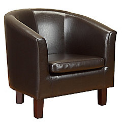 Value by Wayfair Gerbera Tub Chair - Brown