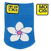 Beach Flower Mock Sock