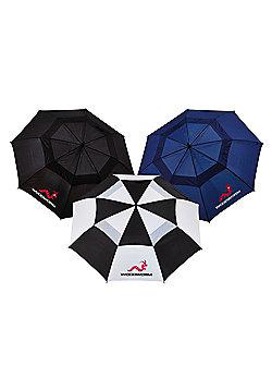 "New 3X Woodworm 60"" Premium Double Canopy Golf Umbrellas"