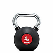 Bodymax Chrome Handle Kettlebell - 4kg
