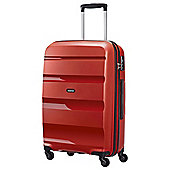American Tourister Bon Air Hard Shell 4-Wheel Suitcase, Red Medium