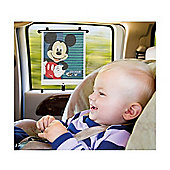 Tomy Mickey Mouse Adjust & Lock Car Shade (2pk)