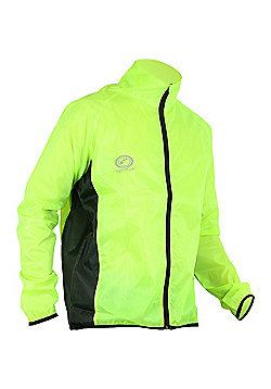 Optimum Hawkley Cycle Rain Jacket Mens - Yellow