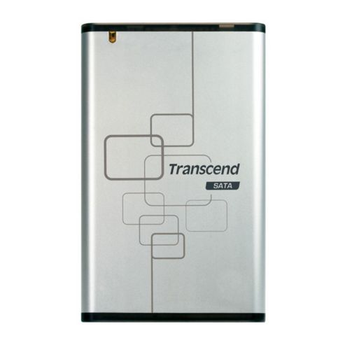 Transcend StoreJet 2.5 inch 0GB SATA USB 2.0 Portable Hard Drive (Silver)