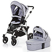 ABC Design Mamba 3 in 1 Pushchair & Carrycot (Silver/Graphite)