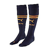 2011-12 Newcastle Away Puma Football Socks - Black
