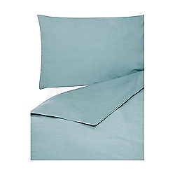 Egyptian Cotton Flat Sheet Double Duck Egg