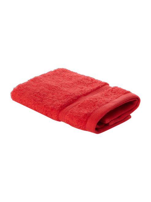 Linea Face Cloth In Red