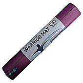 Yoga Mad Warrior Yoga Mat Aubergine 4mm