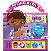 Doc McStuffins Doc McStuffins Doc to the Rescue Musical Book