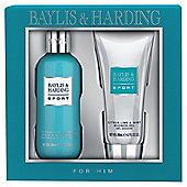 Mens Baylis & Harding Men's Citrus Lime & Mint 2 Piece Gift Set