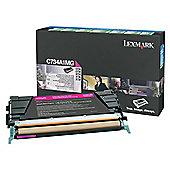 Lexmark C734, C736, X734, X736, X738 Return Programme Toner Cartridge (6K) - Magenta
