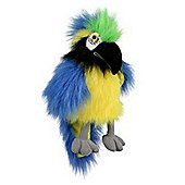 The Puppet Company Baby Bird Blue And Gold Macaw Puppet