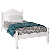 Altruna Oslo Bed Frame - Single (3') - White