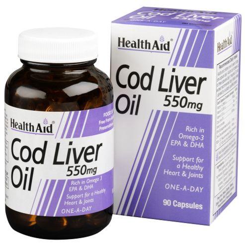 Cod Liver Oil 550mg