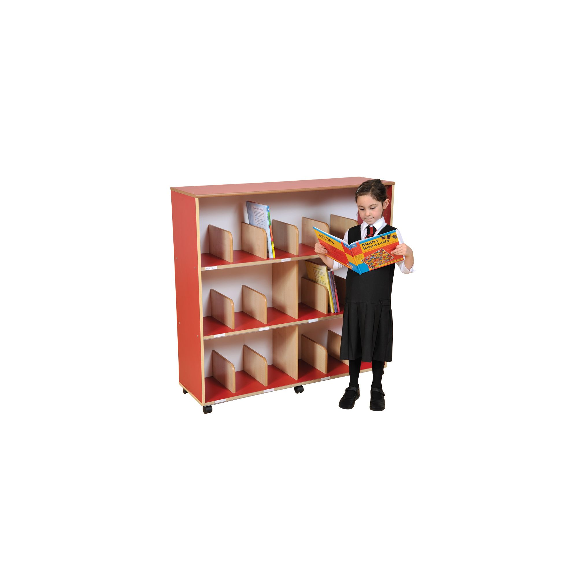 Liberty House Toys Primary Coloured Children's Bookcase at Tesco Direct