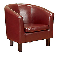 Value by Wayfair Gerbera Tub Chair - Red
