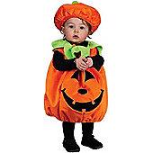 Toddler Plush Plump Pumpkin Costume