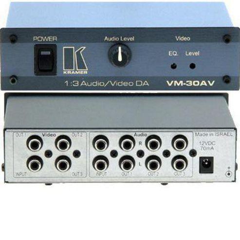 Kramer Electronics VM-30AV Composite and Audio Distribution Amplifier