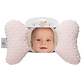 Baby Elephant Ears Neck Support Pink Minky