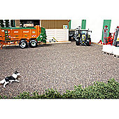 Brushwood Bt2087 Dark Brown Ballast Mat - 1:32 Farm Toys